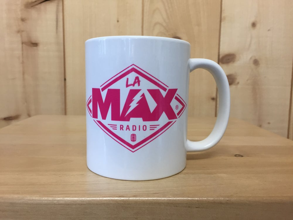 Image of MUG - LA MAX RADIO ROSE - FRAIS DE PORT INCLUS EN FRANCE