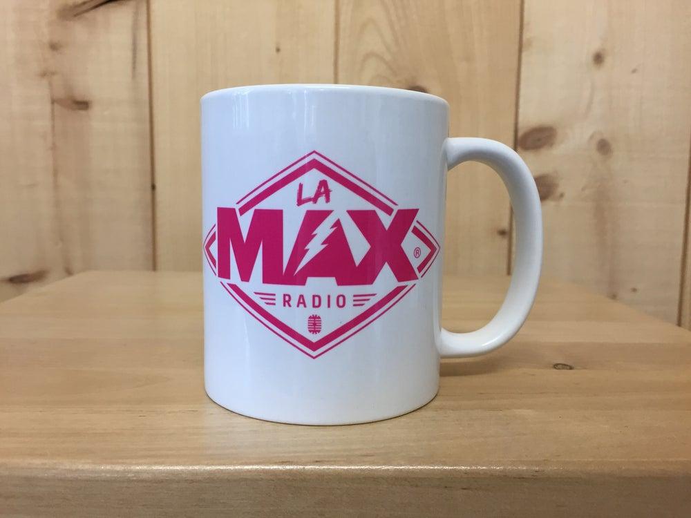 Image of MUG - LA MAX RADIO ROSE - FRAIS DE PORT INCLUS EN FRANCE