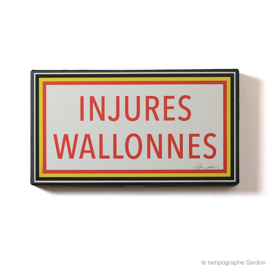 Image of Injures Wallonnes