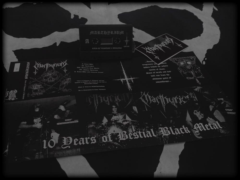 Image of Marthyrium - Rites of Vengeance & Darkness