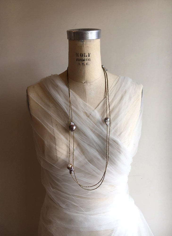 Image of Floating Baroque Necklace