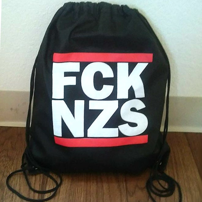 Image of FCK NZS Drawstring Backpack