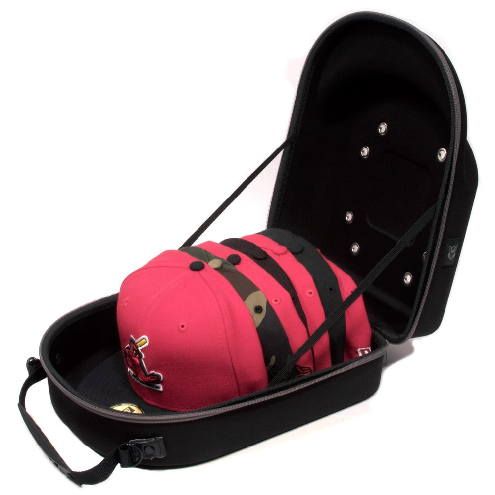 Image of Homiegear 6 Cap Travel Case for baseball hats