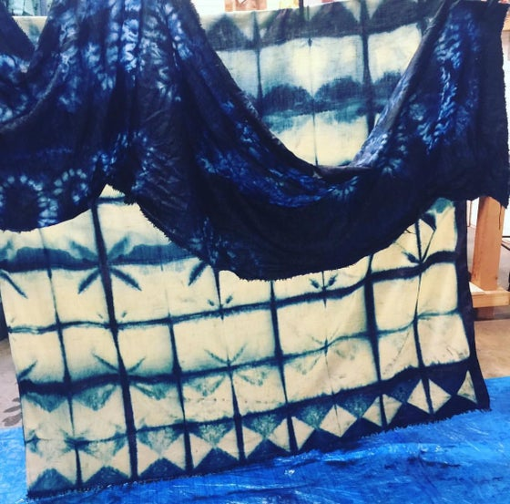 Image of INDIGO SHIBORI FOR BEGINNERS - SUNDAY SEPT 17TH 2-5PM
