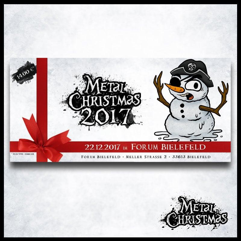 Image of Early-Snowman-Tickets für das Metal Christmas 2017 (streng limitiert)