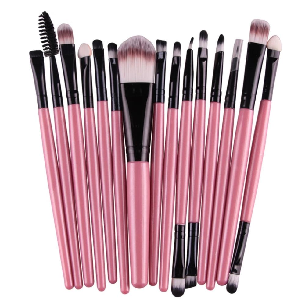 Image of Mini 15 pc Makeup Brush Set