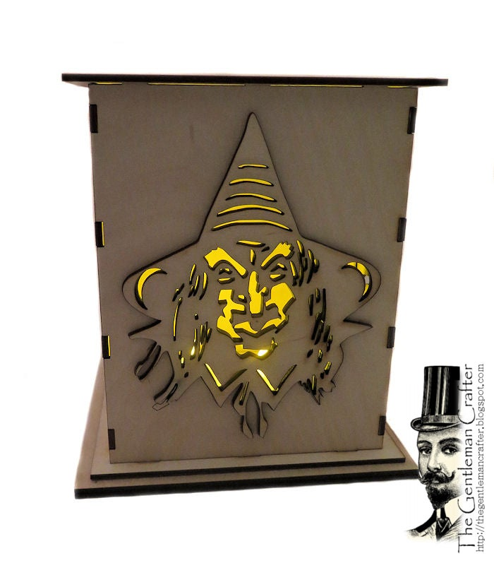Image of Witch Lantern Wood Kit