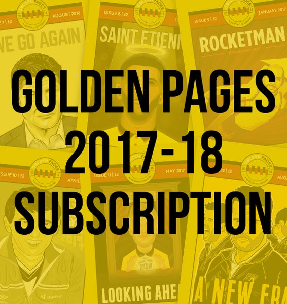 Image of Golden Pages Subscription 2017-18