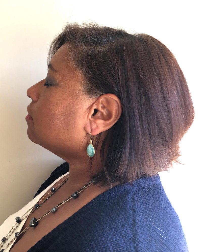 Image of Amazonite Drop Earring