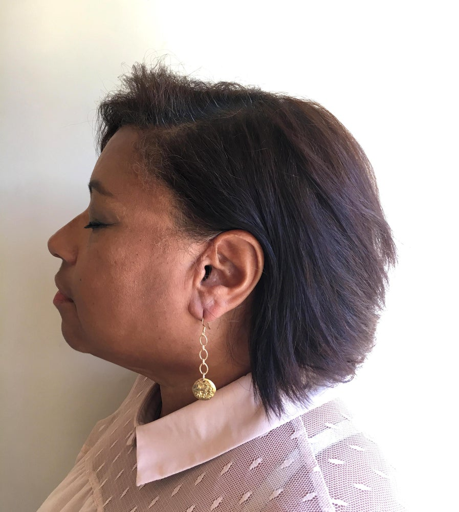 Image of Coin Drop Earrings