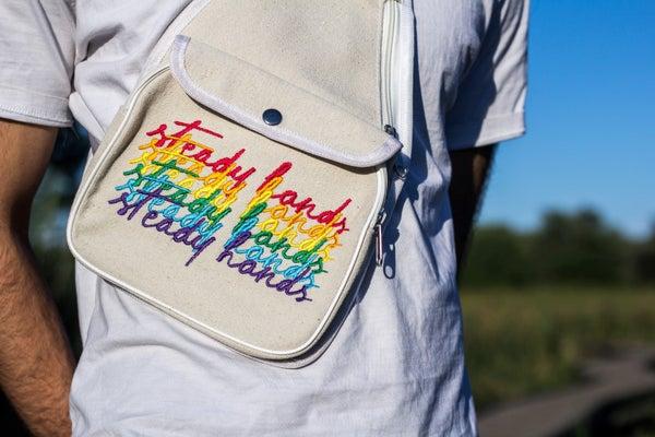 Image of Stacked Logo Sling Bag