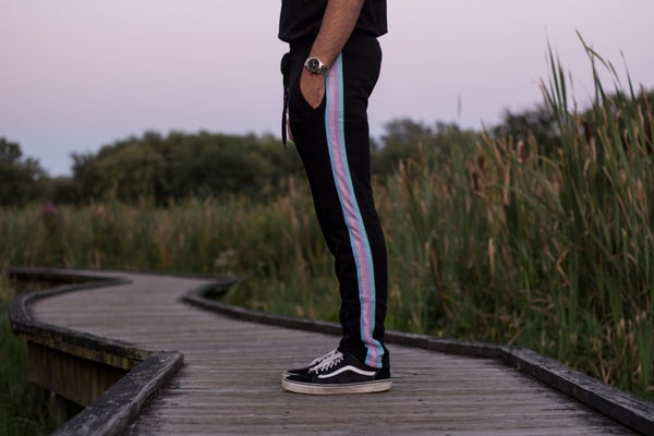 Image of Black Rainbow Pants Pre-Order