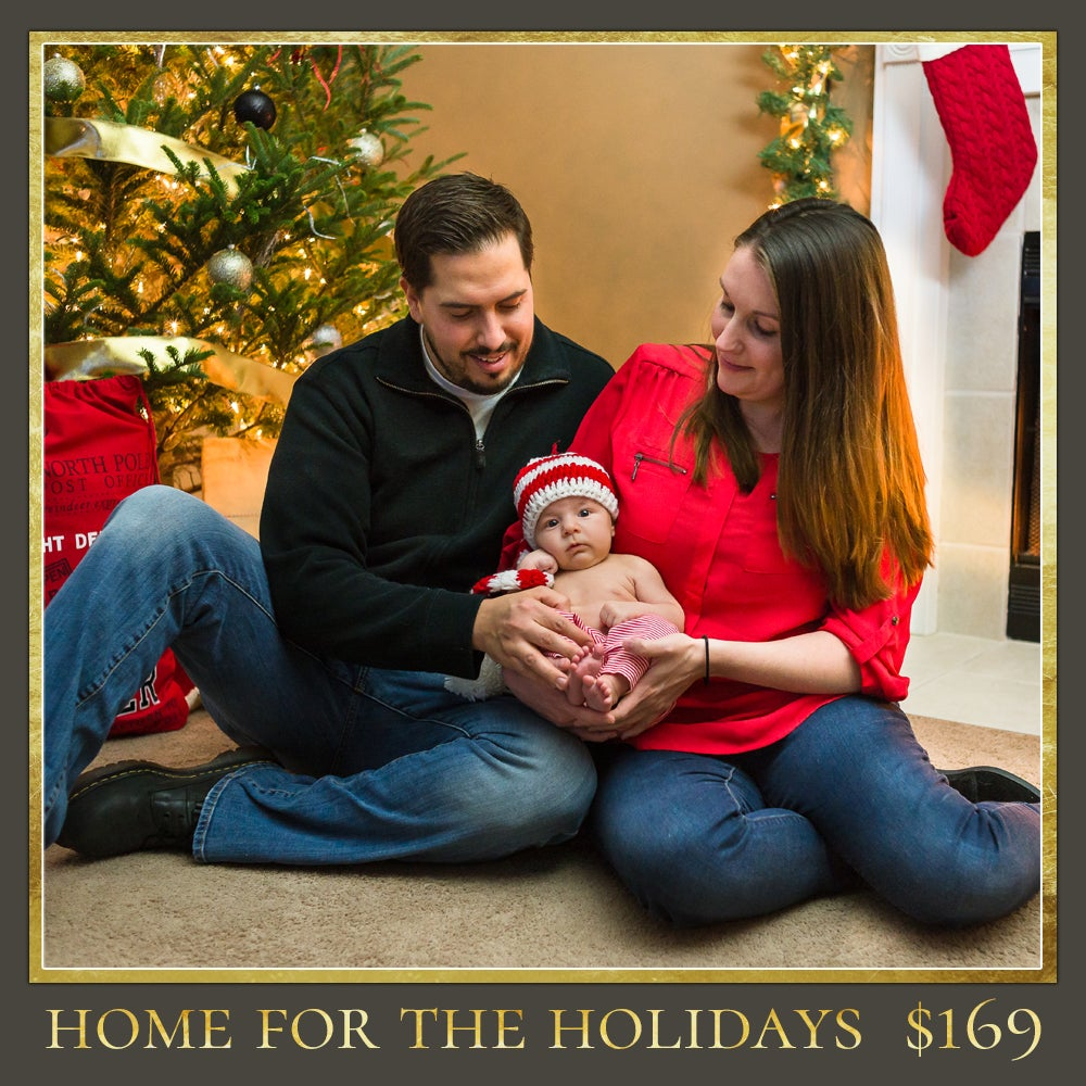 Image of Home for the Holidays Session