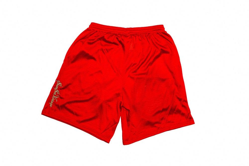 Image of SUNSET FASHION HOUSE - Shorts (Scarlet)