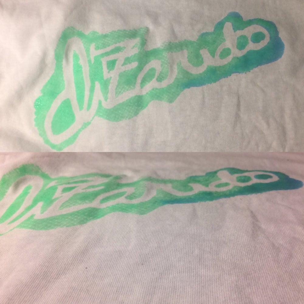 Image of Dizaridoo shirt (blue and green design)