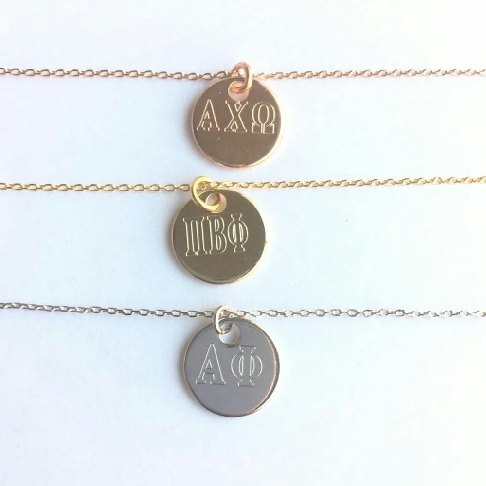 Image of Sorority Necklace  Flash Sale