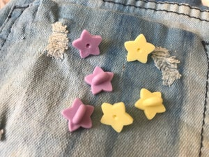 Image of Chubby Star Rubber Backers