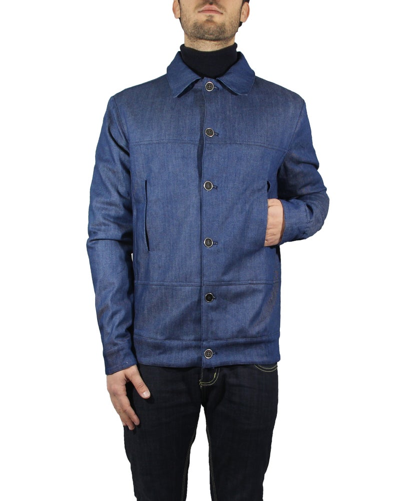 Image of DENIM JACKET BLUE INDIGO