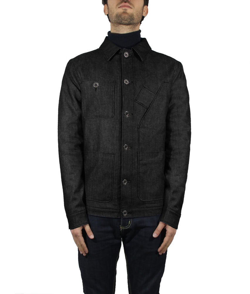Image of WORK JACKET BLACK DENIM R82N