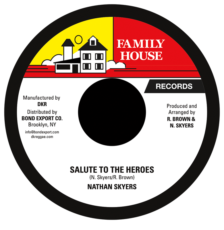 "Image of Nathan Skyers - Salute to the Heroes 7"" (Family House)"