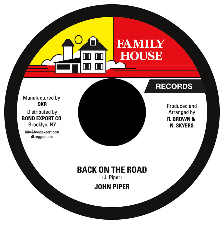 "Image of John Piper - Back on the Road 7"" (Family House)"