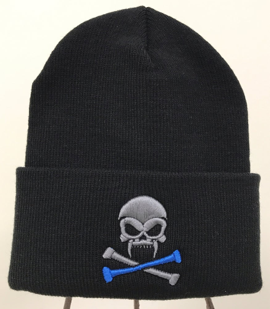 Image of Sonkei Blue 3D Puff Beanies