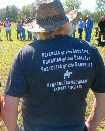 Image of Grey Pipeline Fighter T-Shirt