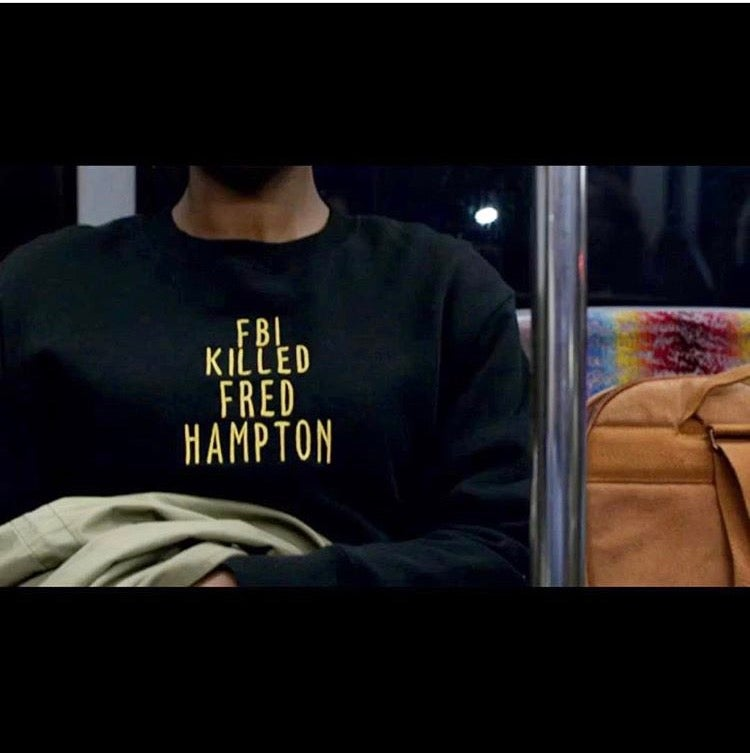 Image of FBI KILLED FRED HAMPTON SWEATER