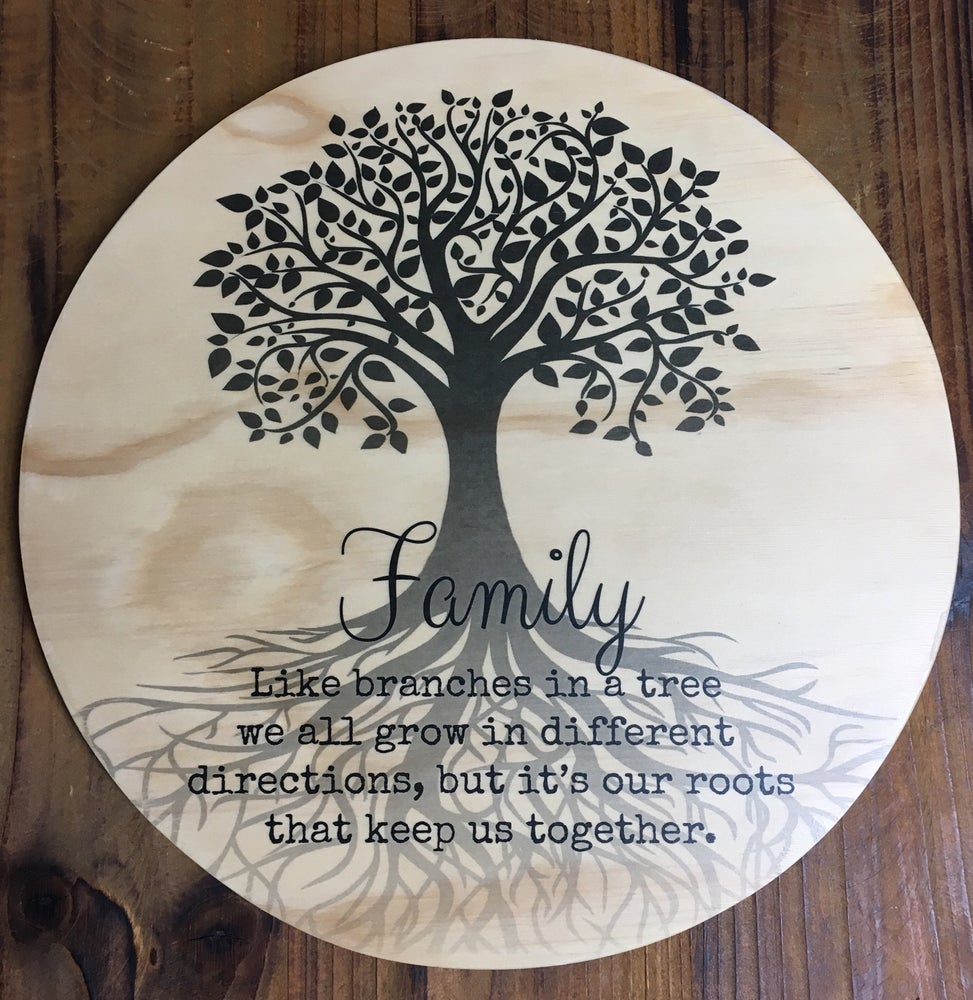 Image of Family Wooden Print