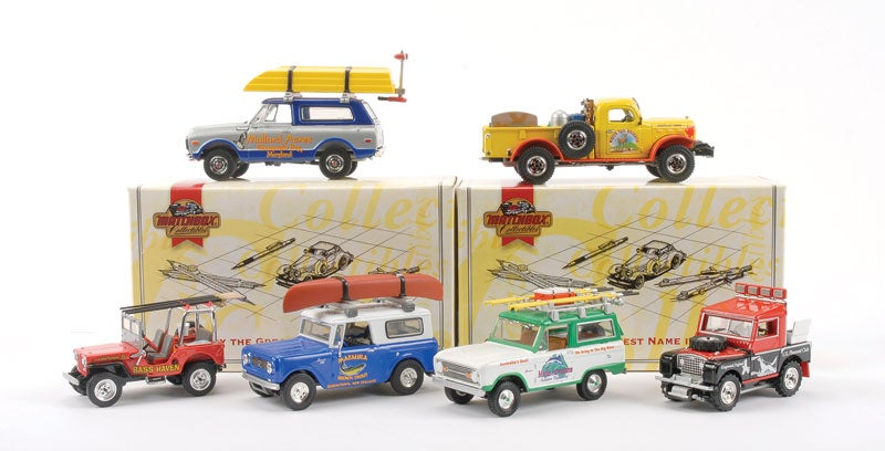 Image of Complete Set: Matchbox Collectibles Great Outdoors Collection