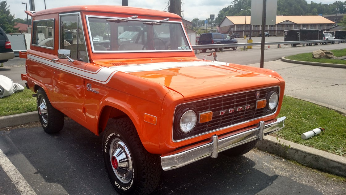 Image of Bronco Special Decor Package Stripe Kit