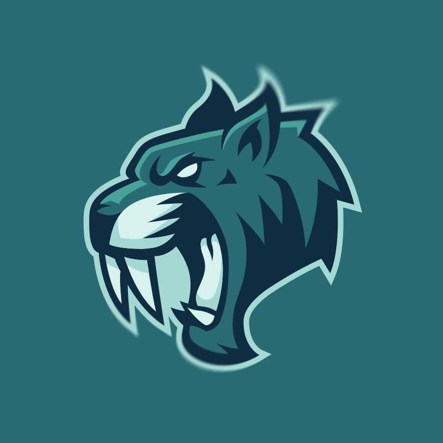 """Image of """"Sabercats"""" One-Time Sale Logo"""