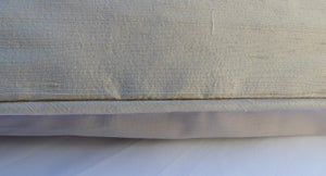 Image of Oyster Silk Dupion Eiderdown