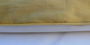 Image of Honey Silk Dupion Eiderdown