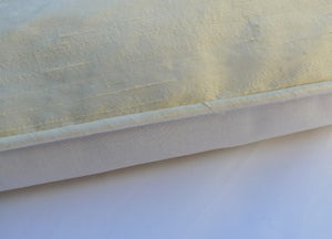 Image of Gorgeous Vanilla Dupion Pure Silk Eiderdown