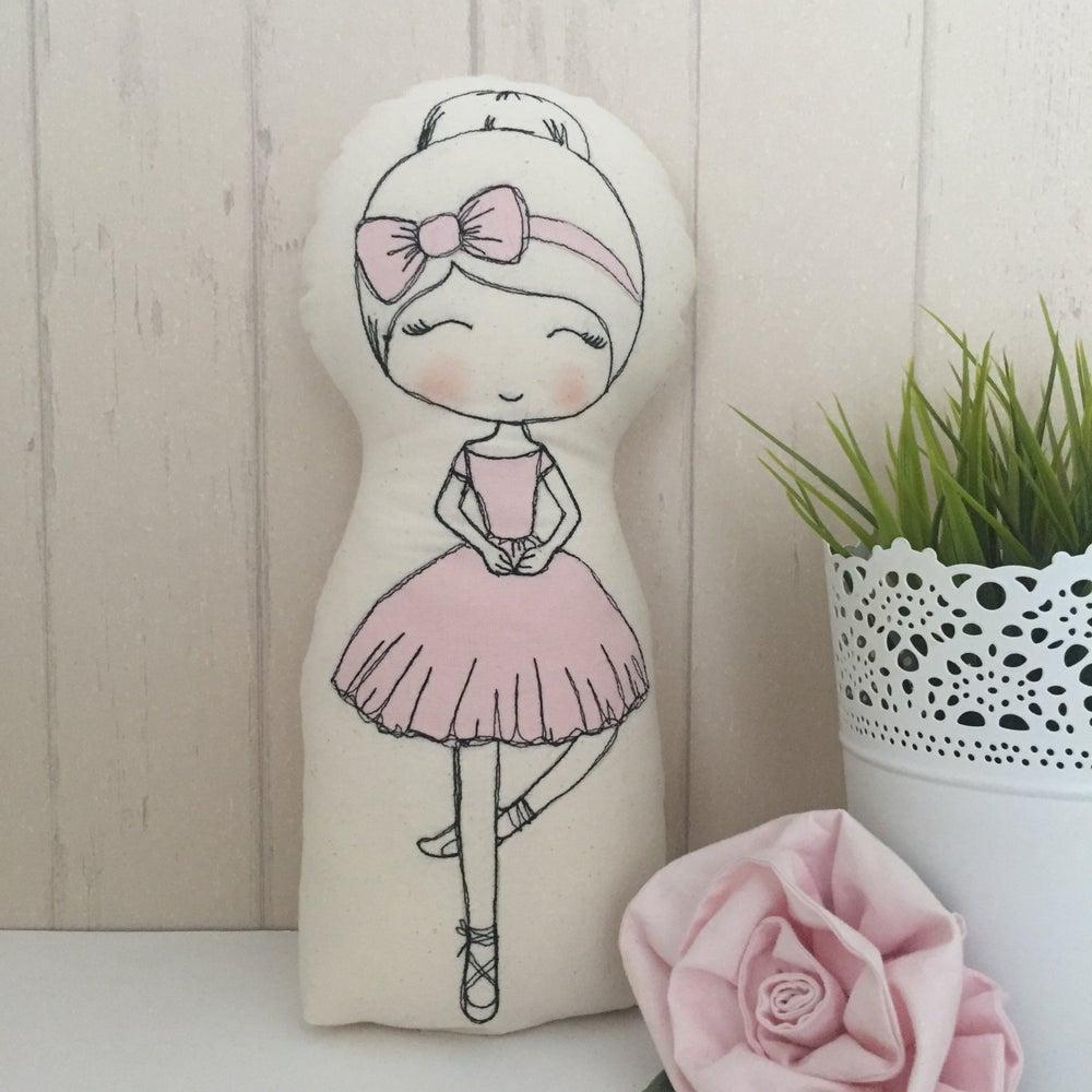 Image of pattern to make Ballerina dolls