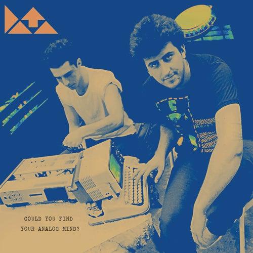 Image of DATA-Could You Find Your Analog Mind? LP, DCM-005, Blue Vinyl