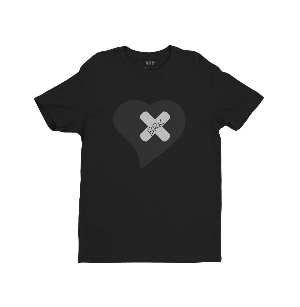Image of Broke Rich Kid BlackHeart Tee