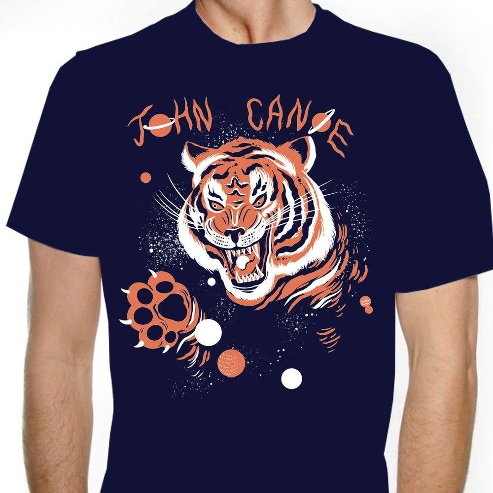 Image of John Canoe: Blue Navy Tiger T-Shirt