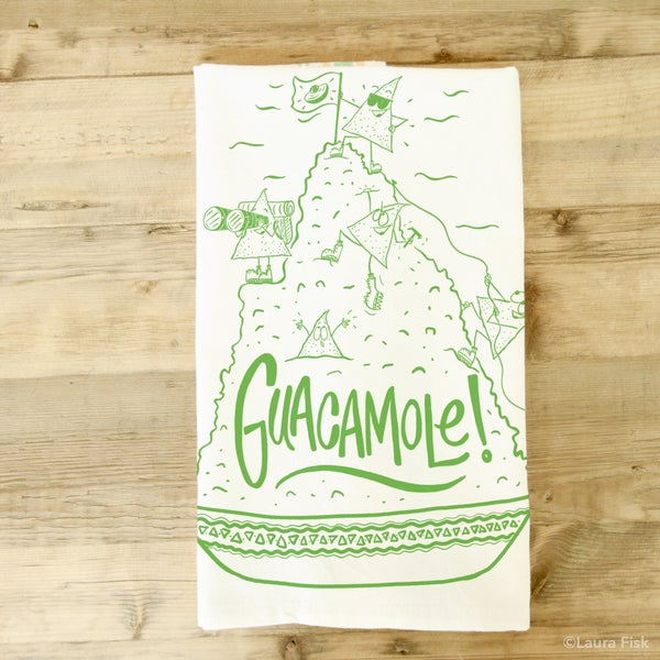 Image of Guacamole Tea Towel