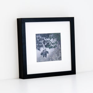 Image of Framed Paper Cut Canopy Scene - small