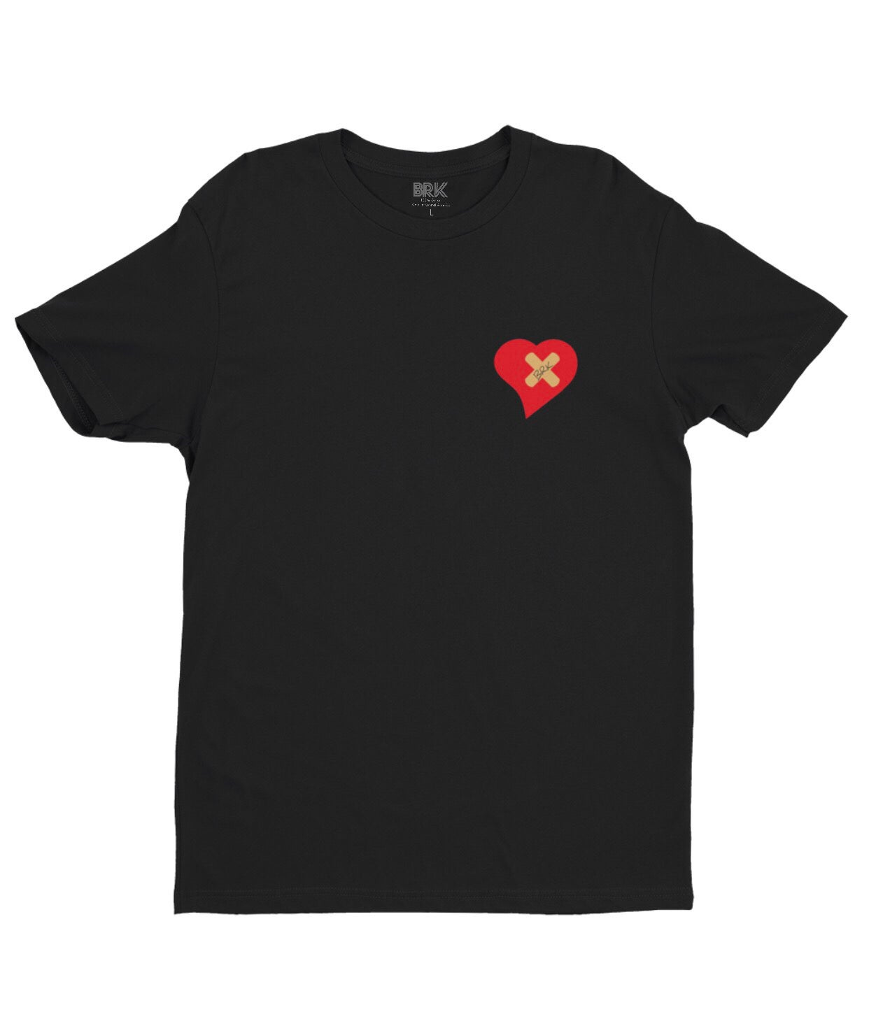 Image of Broke Rich Kid Logo Tee Shirt