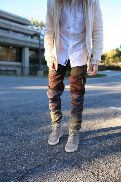 Image of Woodland Paneled Pants