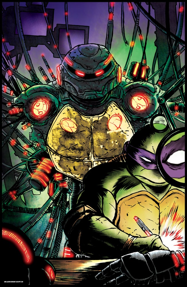 Image of DONATELLO and METALHEAD