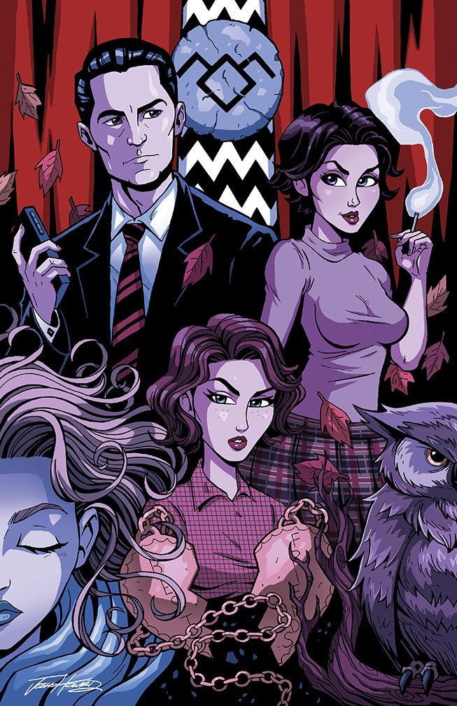 "Image of TWIN PEAKS ""BEST FRIENDS"" Print"