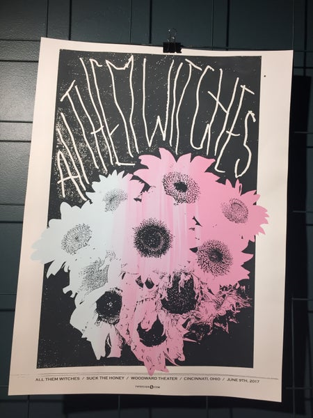 Image of All Them Witches Poster