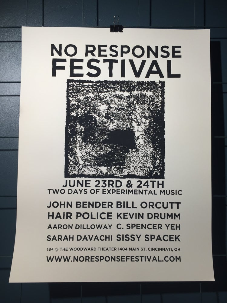 Image of No Response Fest Poster