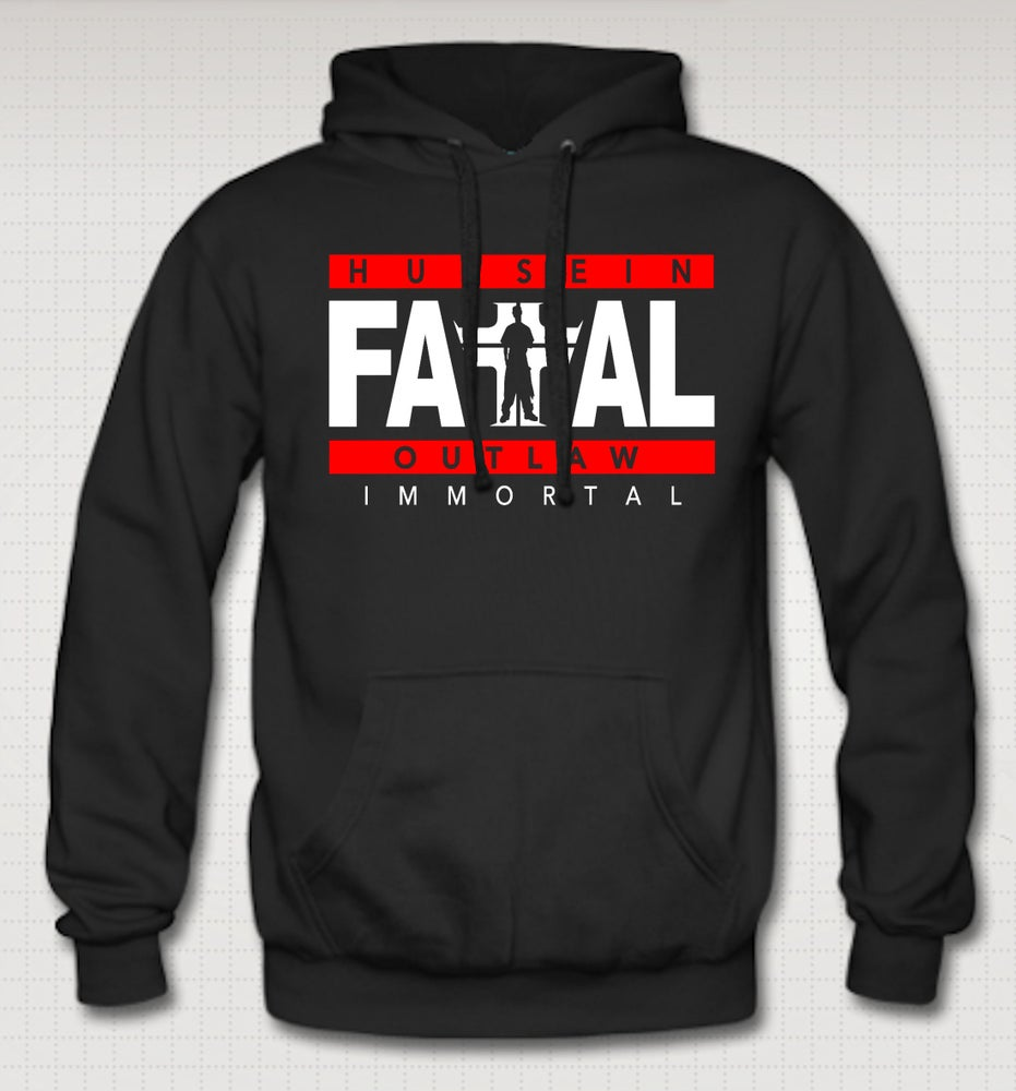 Image of Hussein Fatal Immortal Hoodie-Comes in Black,Gray CLICK HERE TO SEE ALL COLORS
