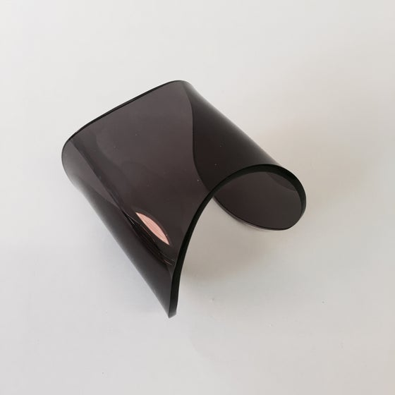 Image of Lucite Smokey Bone Cuff