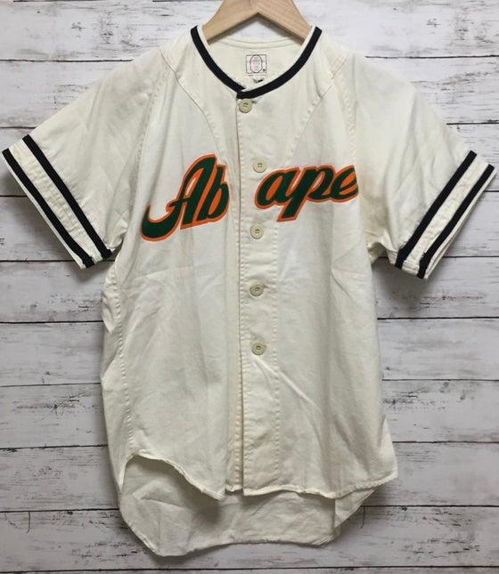 "Image of Bape Vintage ""ABape"" Baseball Jersey"